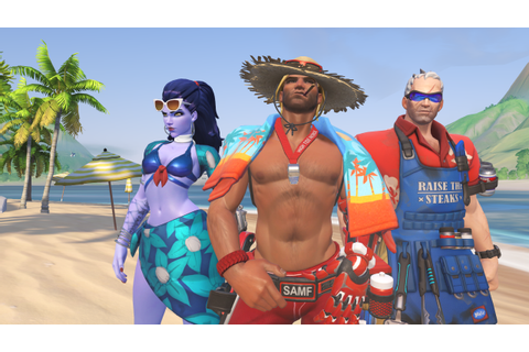 Here are all the new Overwatch Summer Games skins | Dot ...