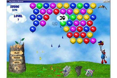 Big Balloon Blowout Game Download | Screenshot #2 ...