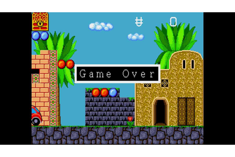 Game Over: Alex Kidd in Enchanted Castle - YouTube
