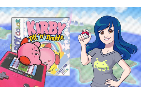 Kirby Tilt n Tumble (Nintendo GameBoy Color) - Retro Game ...
