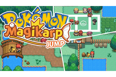 Pokemon Magikarp Jump New Fan Made Game - YouTube