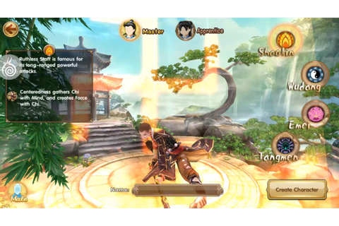 Age of Wushu Dynasty Gameplay (Shaolin) IOS / Android ...