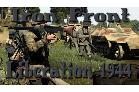Iron Front:Liberation 1944 gameplay pl - YouTube