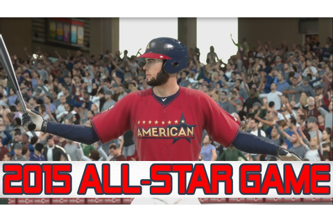 MLB 14 The Show RTTS- 2015 All Star Game (PS4) - YouTube