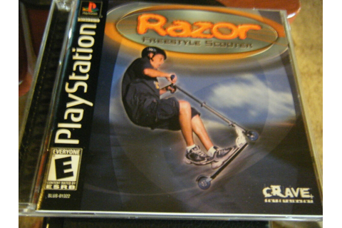 Razor Freestyle Scooter (PlayStation, 2000) - Complete ...