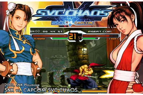 SNK vs. Capcom: SVC Chaos - The 25 Best SNK Fighting Games ...