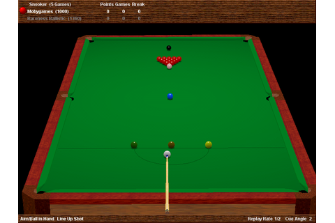 Virtual Pool Hall Screenshots for Windows - MobyGames