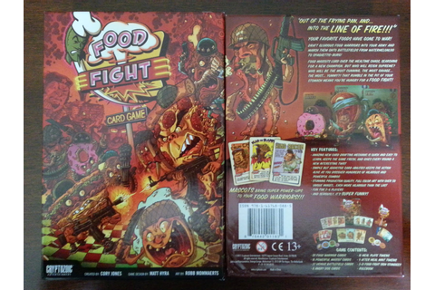 Food Fight | A Board Game A Day