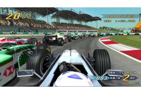 Grand Prix Challenge - Gameplay PS2 (Native Resolution ...