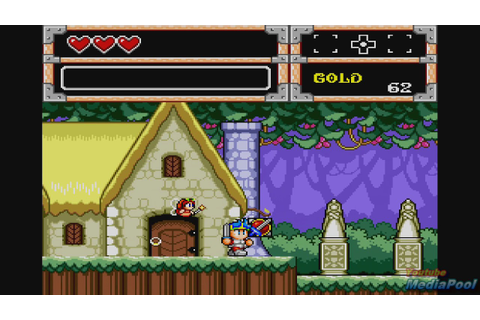 1991 Wonder Boy in Monster World (Sega Genesis) Game ...