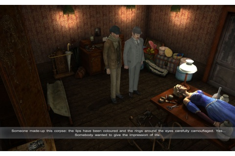 Dream Games: Sherlock Holmes VS Jack The Ripper