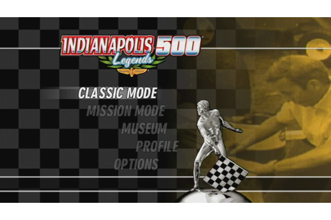 Indianapolis 500 Legends Wii Gameplay - YouTube