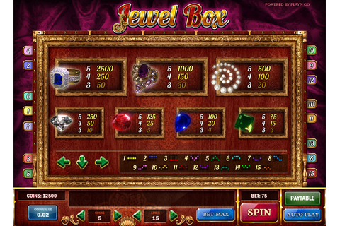 Jewel Box Slot Game - Free Play | DBestCasino.com