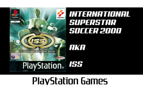 International Superstar Soccer 2000 aka ISS (Brazil x ...