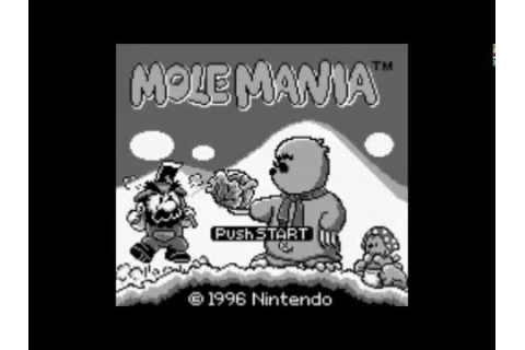 Mole Mania (Game Boy) - Level 1 - YouTube