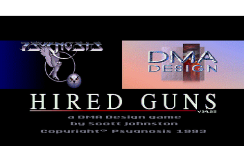 Dazeland : Jeux Amiga : Hired Guns