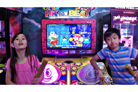 Japanese Arcade Game Hit The Beat Rhythm 2 Player Versus ...