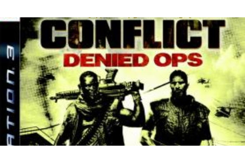 Conflict Denied Ops [EUR] JB - PS3 ISO Games Download