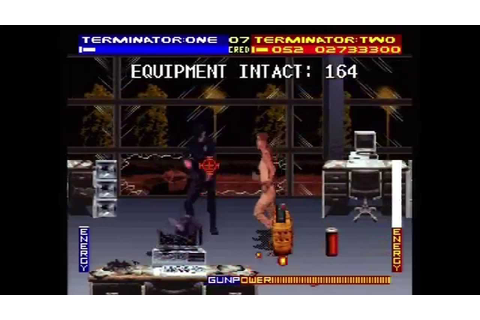 T2: The Arcade Game (Actual SNES Capture) - Mouse ...