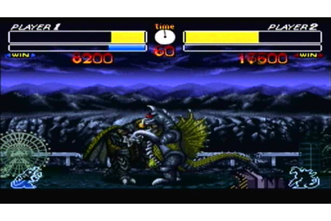 All Special Attacks (Godzilla: Kaijuu Daikessen [SNES ...