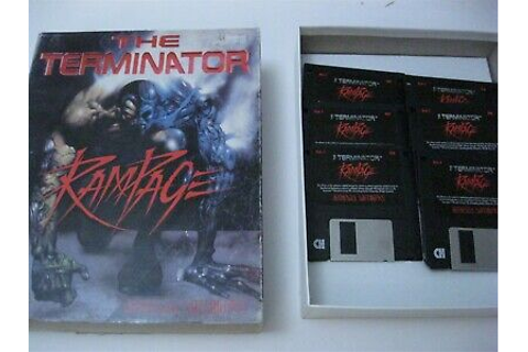 "The Terminator Rampage PC game 3.5"" disks complete ..."