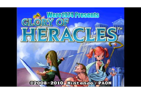 Glory of Heracles (NINTENDO DS) Part 1 Journey Begins ...