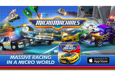 Micro Machines Gameplay Android - Android Game Download ...