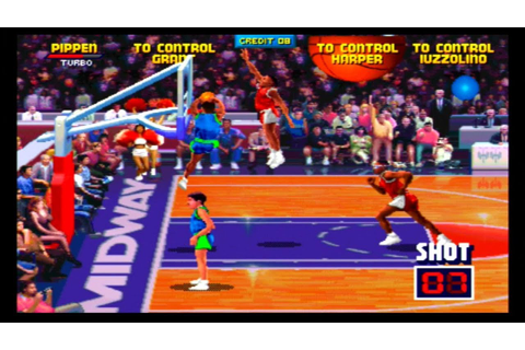 NBA Jam (Arcade) gameplay - YouTube