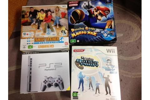 GameCube/Wii Dancing Titles for Sale, Slim Satin Silver ...