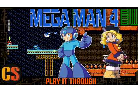 MEGA MAN 4 (PLAYSTATION 1) - PLAY IT THROUGH - YouTube