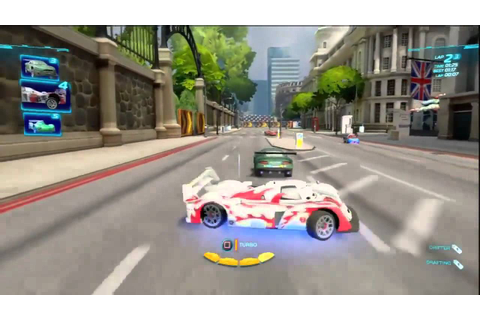 Cars 2: The Video Game - 2-Wheel Slalom Gameplay (Multi ...