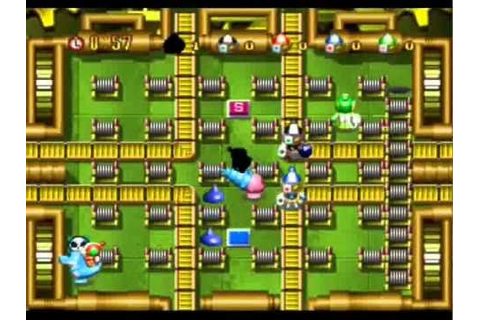 Bomberman Party Edition - The Fast Lane part 1 - YouTube