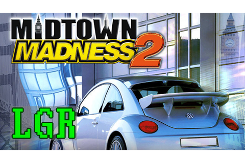 LGR - Midtown Madness 2 - PC Game Review - YouTube