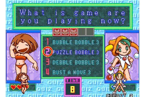 Puzzle Bobble Bust-A-Move 3 Taito Corporation Acclaim ...