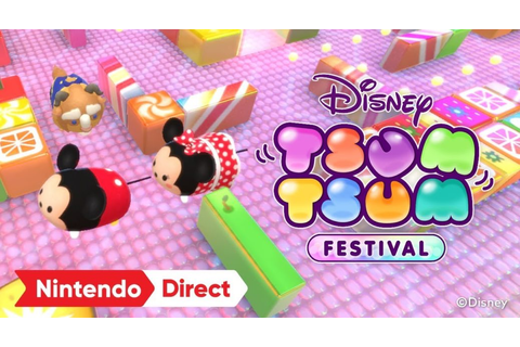 Disney Tsum Tsum Festival Announced For Switch | NintendoSoup