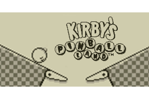 Kirby's Pinball Land | Virtual Console (Nintendo 3DS ...