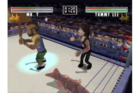 MTV Celebrity Deathmatch Gameplay PS1 - YouTube