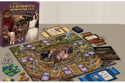 Jim Henson's Labyrinth The Board Game Announced • World Of ...