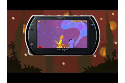 NEW LOCO ROCO GAME!! LocoRoco Midnight Carnival PSP ...
