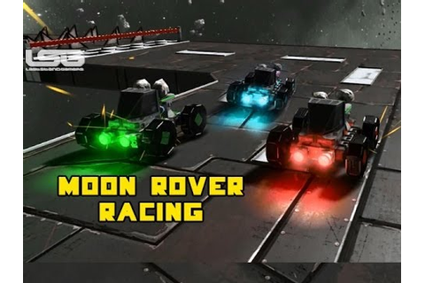 Space Engineers - Moon Rover Racing Mini Game, Cars in ...