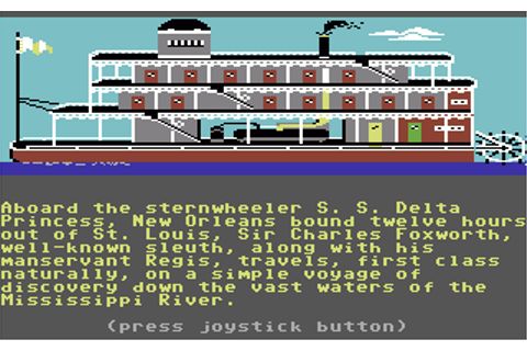 Download Murder on the Mississippi (Apple II) - My Abandonware