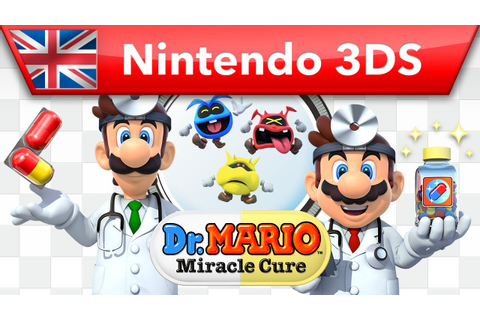 Dr Mario: Miracle Cure - Trailer (Nintendo 3DS) - YouTube