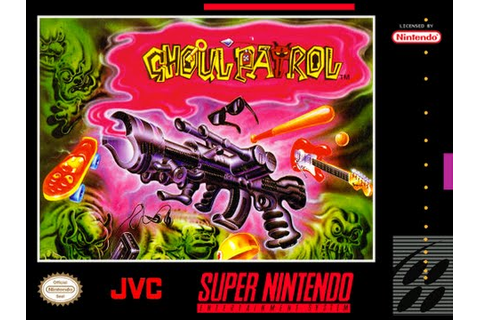Ghoul Patrol (SNES) Soundtrack - YouTube
