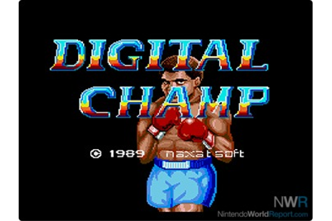 Digital Champ: Battle Boxing - Game - Nintendo World Report