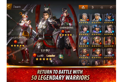 Dynasty Warriors: Unleashed - Android Apps on Google Play