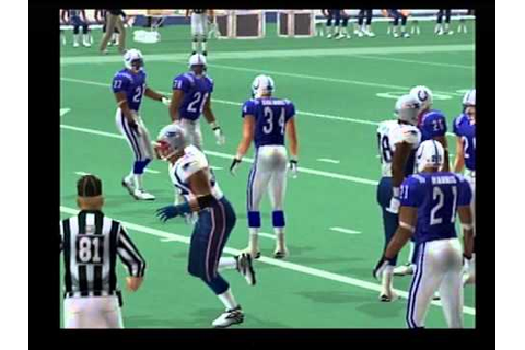 nfl gameday 2004 gameplay ps2 - YouTube