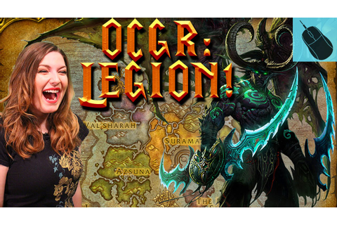 Bizzard's World of Warcraft: Legion Review - YouTube