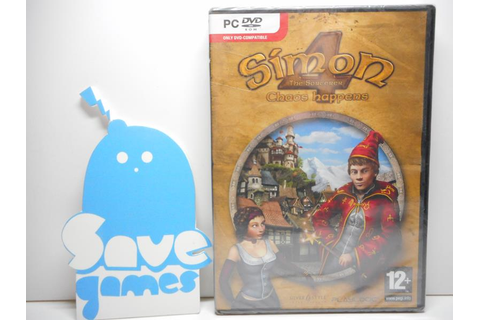 Simon The Sorcerer 4 Chaos Happens - Save Games