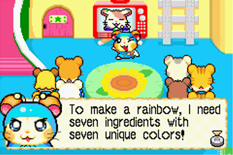 Hamtaro: Rainbow Rescue Screenshots for Game Boy Advance ...
