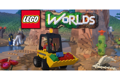 Lego Worlds Walkthrough